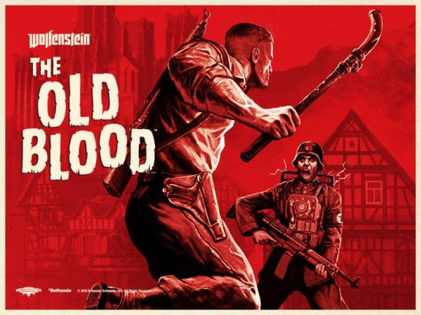 Шутер Wolfenstein: The Old Blood выйдет 15 мая