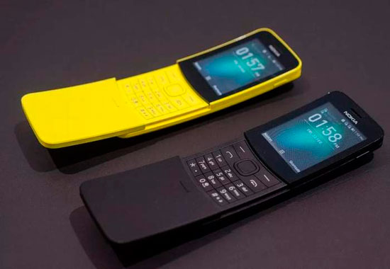Nokia 8110 4G Reloaded из «Матрицы»